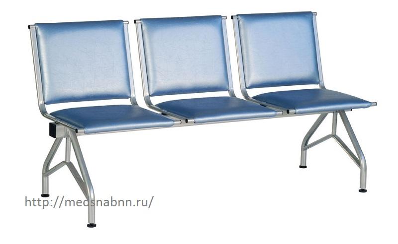 Секция стульев для медучреждения КС-86
