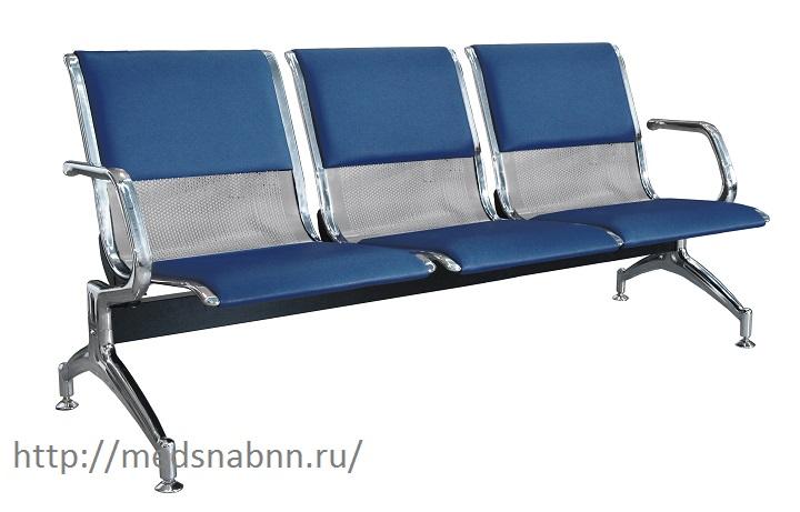 Многоместная секция стульев КС1/1-ПМ