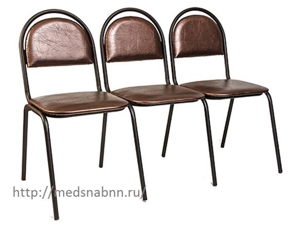 Секция стульев трехместная Стандарт