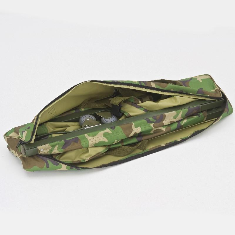 Носилки складываются в продольном направлении в удобную сумку-переноску.