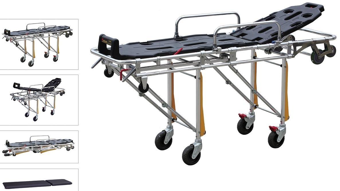 Тележка медицинская ММ-Y-3a/2 для перевозки больных