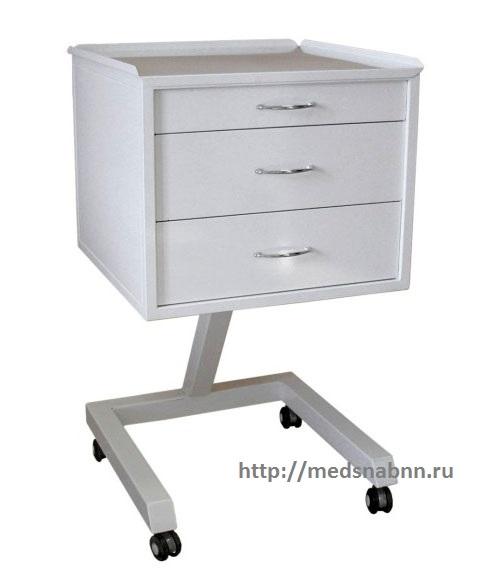 Столик стоматологический СС-1-3 с 3 ящиками