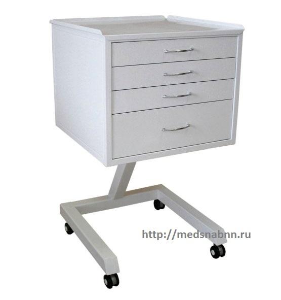 Столик стоматолога ОП-СС-1-5 с 5 ящиками