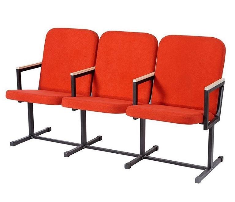 Кресло секционное для актовых и конференц залов КС-1М