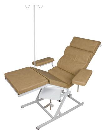 Кресло донорское без штатива для длительного вливания