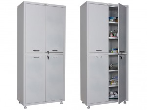 Шкаф медицинский для кабинета врача-офтальмолога ПК17-80СС