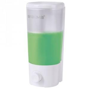 Настенный дозатор для жидкого мыла ЛАЙМА 0.38 л