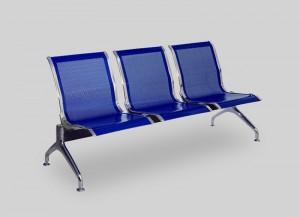 Секция стульев перфорированная J-02 без подлокотников