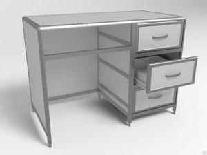 Стол лаборанта СЛаб -1/03 с 3 ящиками