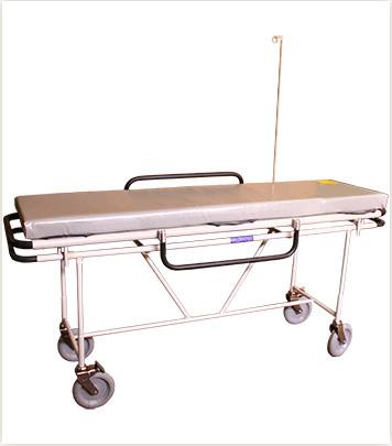Тележка внутрибольничная TV-230 с мягким матрацом без подголовника