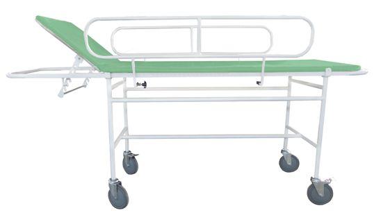 Тележка медицинская для пациентов ТМПБ-В01 с боковыми ограждениями