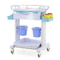 minStolik medicinskij plastikovyj MM-ST-001 dlja reanimacionnoj