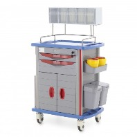minTelezhka reanimatologa MM-TM-003 mnogofunkcional'naja s nadstrojkoj